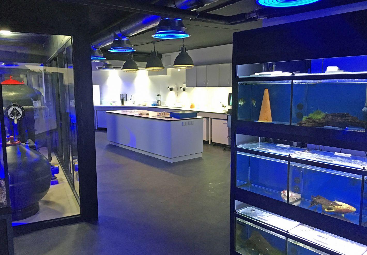 Photo du Labo du Grand Aquarium de Touraine