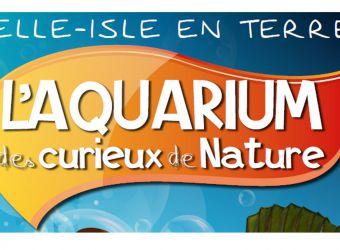 Logo de l'Aquarium des Curieux de la Nature à Belle-Isle-en-Terre dans les Côtes d'Armor en Bretagne