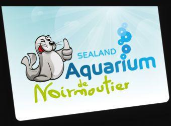 Logo otarie de l'Aquarium Sealand de Noirmoutier-en-l'Île en Vendée