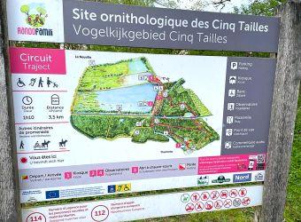 Photo SITE ORNITHOLOGIQUE DES CINQ TAILLES
