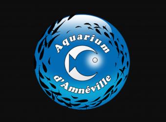 Logo de l'Aquarium d'Amnéville en Moselle figurant des poissons