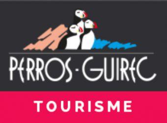 Logo de l'office de tourisme de Perros-Guirrec dans les Côtes d'Armor