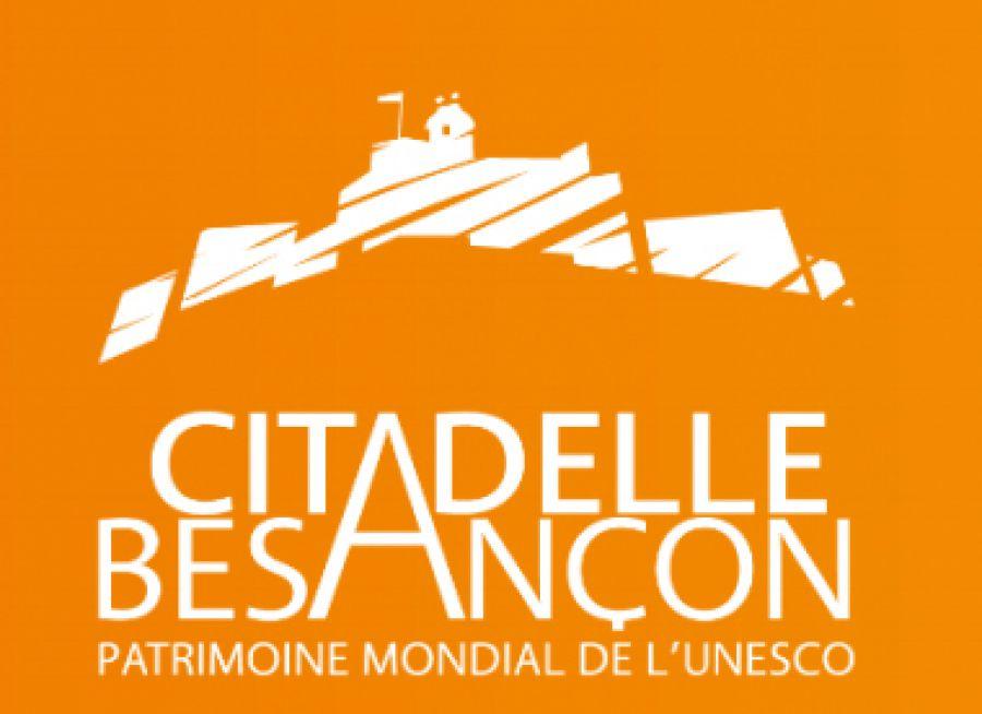 Logo de la Citadelle de Besançon dans le Doubs