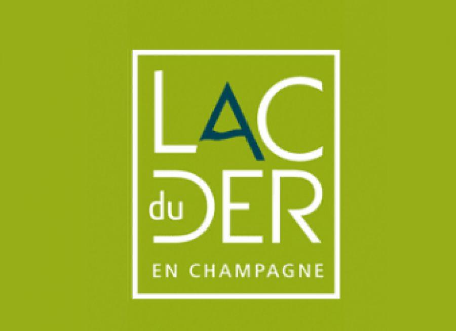 Logo du Lac du Der, site nature dans la Marne en Champagne