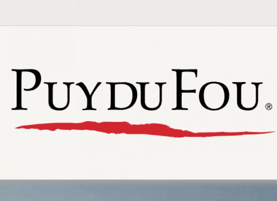 Logo du Puy du Fou, spectacles, parc à thèmes et animaux à Les Epesses en Vendée