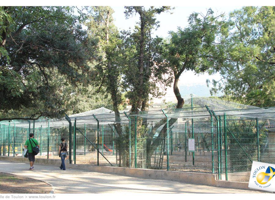 Photo du Parc des Oiseaux à Toulon dans le Var