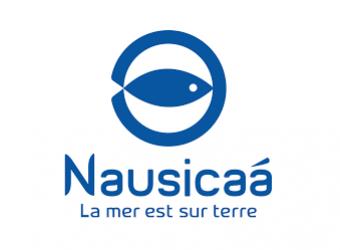Logo de Nausicaa, centre national de la mer et aquarium à Boulogne-sur-Mer dans le Pas-de-Calais
