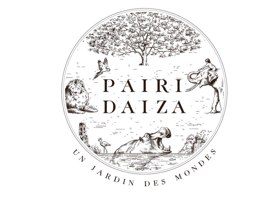 Logo de Pairi Daiza, le jardin des mondes, parc animalier à Brugelette en Belgique