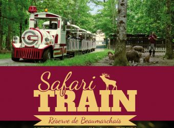 Photo SAFARI TRAIN - RESERVE DE BEAUMARCHAIS