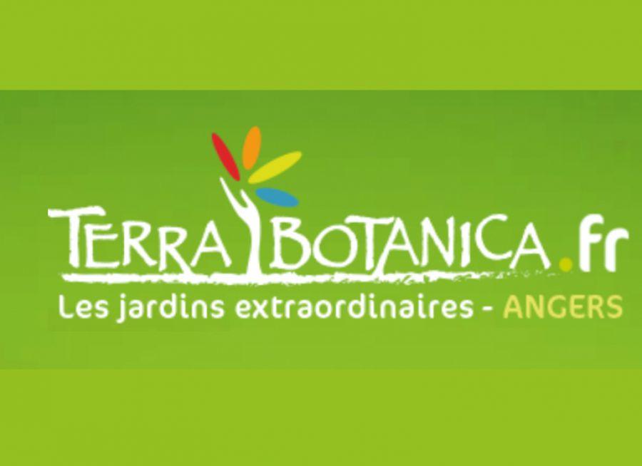 Logo de Terra Botanica, parc botanique à Angers dans le Maine-et-Loire